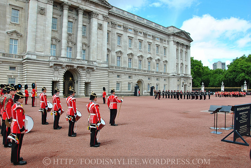 Changing of the Guard Ceremony at Buckingham Palace, London, England