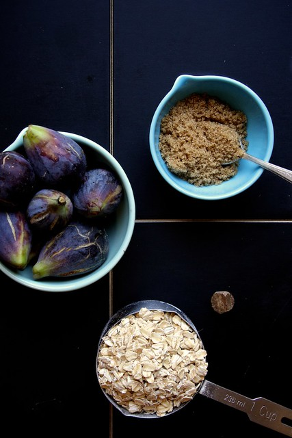 Brown Sugar Roasted Fig Oatmeal | Joy the Baker