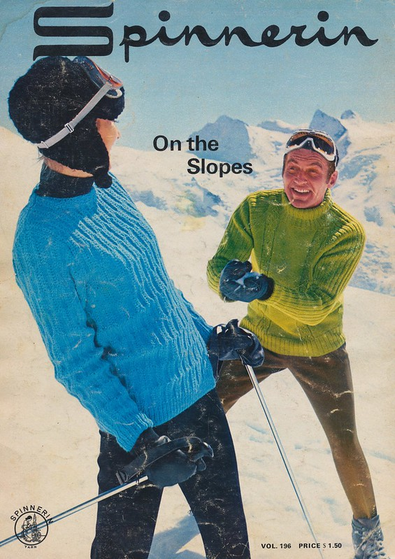 Spinnerin On The Slopes