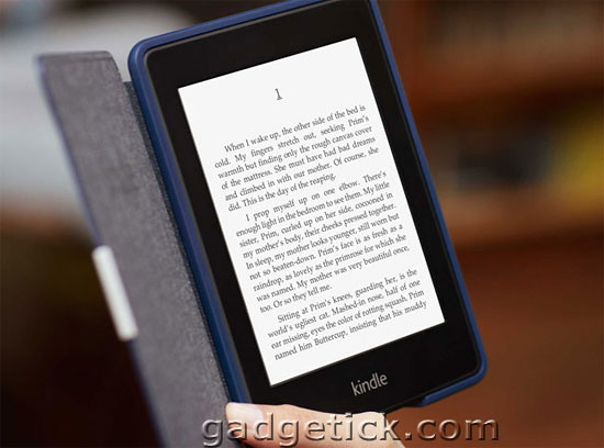 Amazon Kindle Papewhite Технология Дисплея
