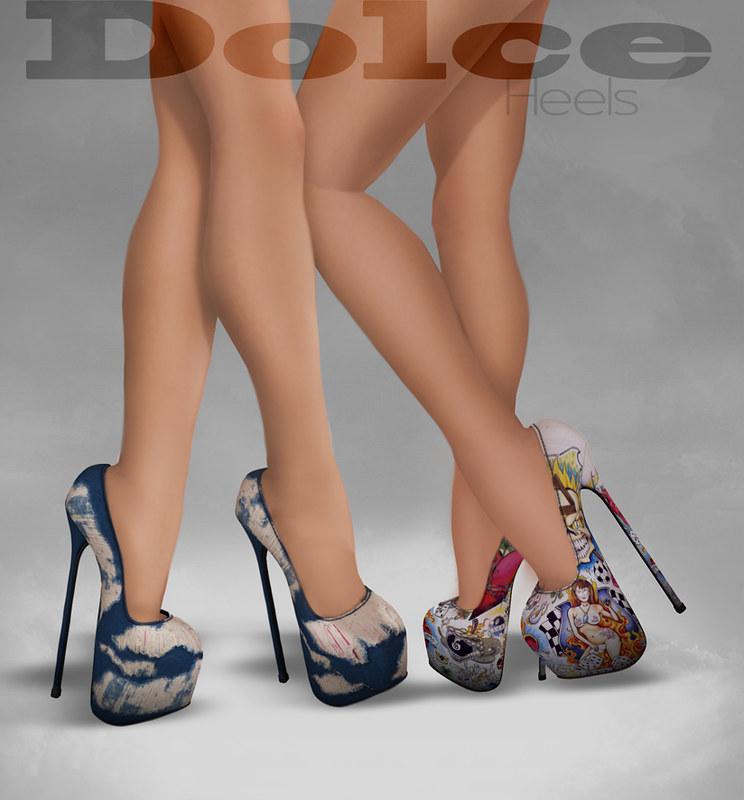 Dolce heels pattern