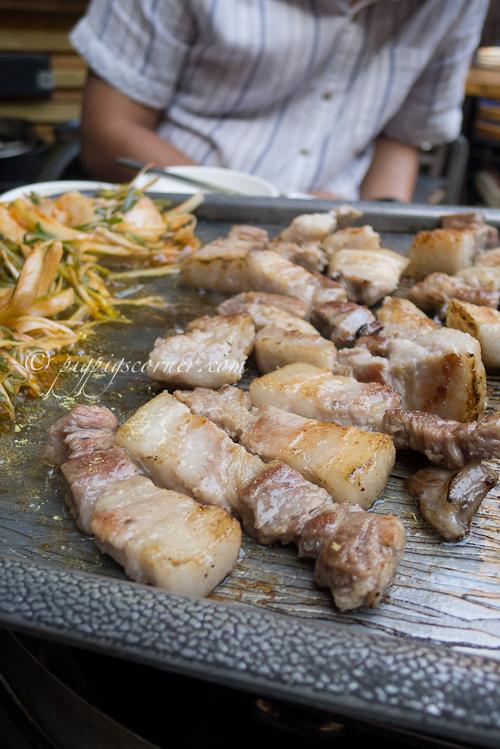 Guhl Goo Nae Wang Gob Chang (걸구네 왕 곱창) pork