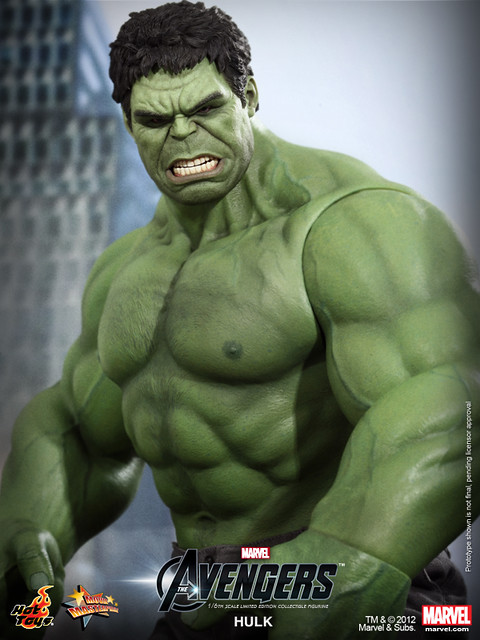 Hot Toys - The Avengers - Hulk Limited Edition Collectible Figurine_PR9