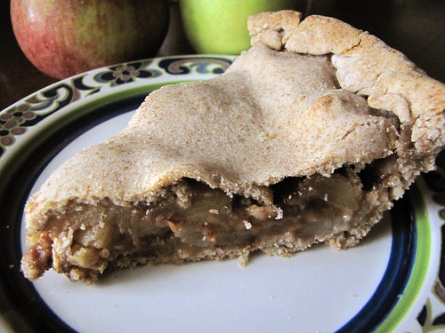 processed sugar-free apple pie