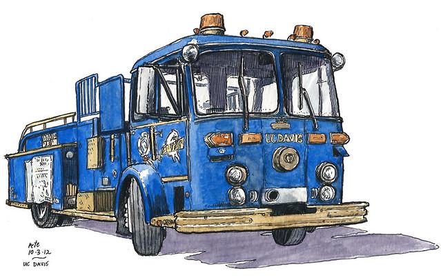 aggie firetruck
