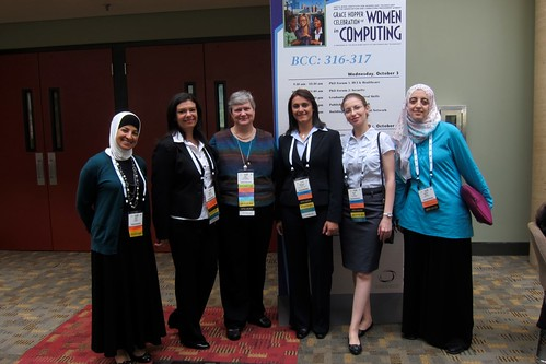 TechWomen at the Hopper Conference 2012
