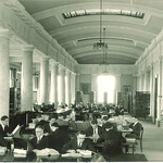 Law library, Gilmore Hall, The University of Iowa, 1929
