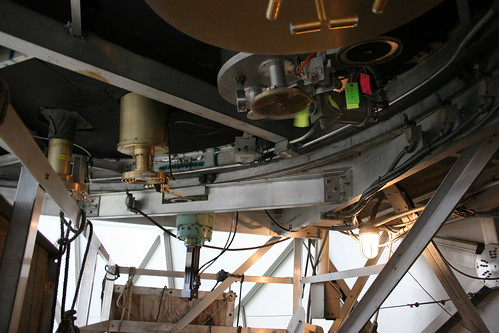 The business end of the telescope