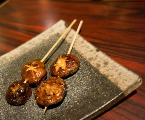 Japanese's grilled mushroom