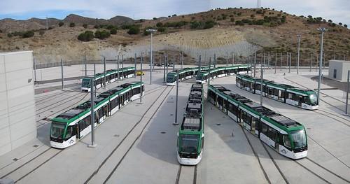 Flota del Metro de Málaga