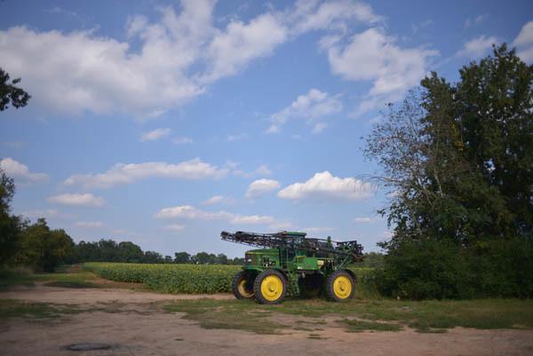 Sunflower Field Harvester