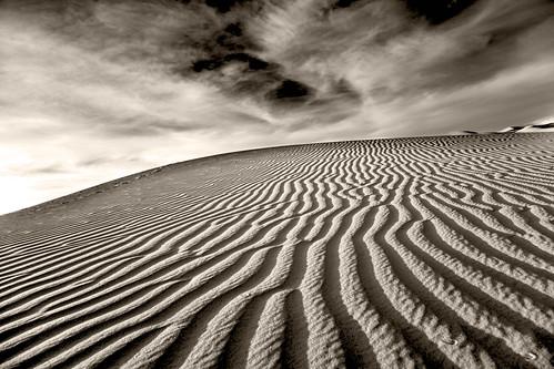 africa sea blackandwhite bw canon sand dunes morocco westafrica sahar sanddunes westernsahara saharasand sazzoo robwhittaker mehruga robwhittakerphotography merzougasandsea