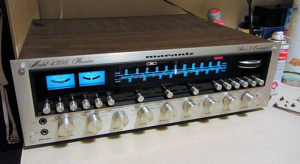 Marantz 4300 Low Volume one side Audiokarma Home Audio
