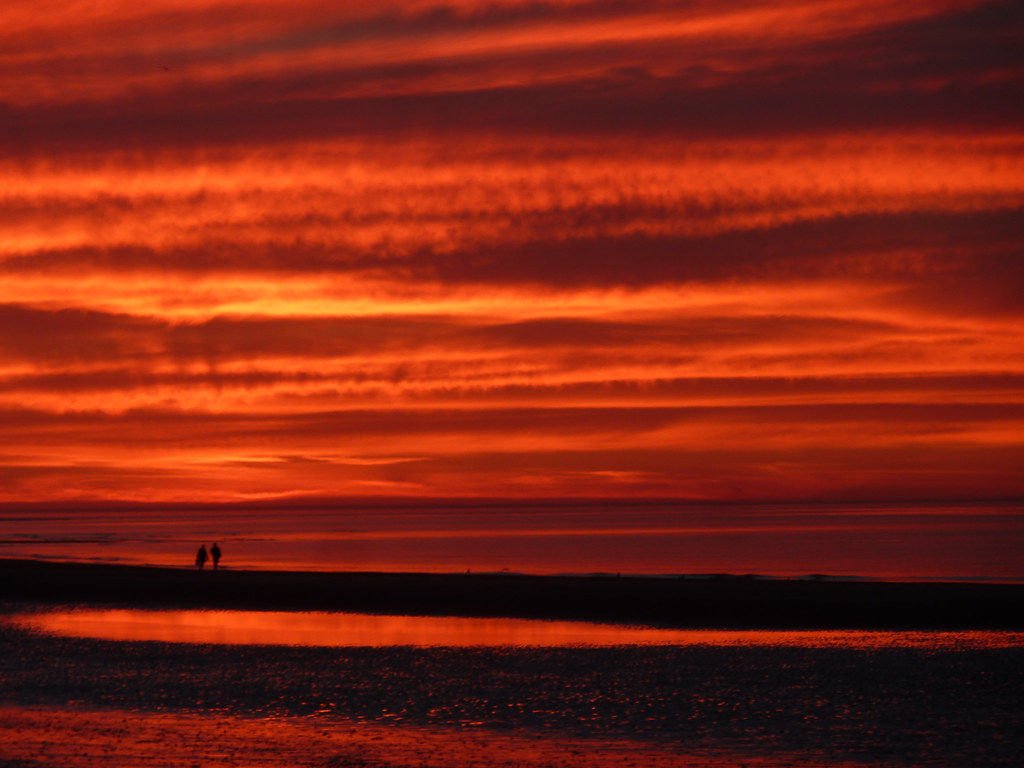 Brancaster Beach, Англия.