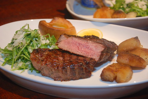 the Estate grilled striplion steak