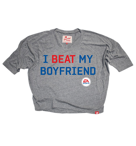 EA Sports I Beat My Boyfriend Marshall Sweatshirt by Sportiqe Apparel
