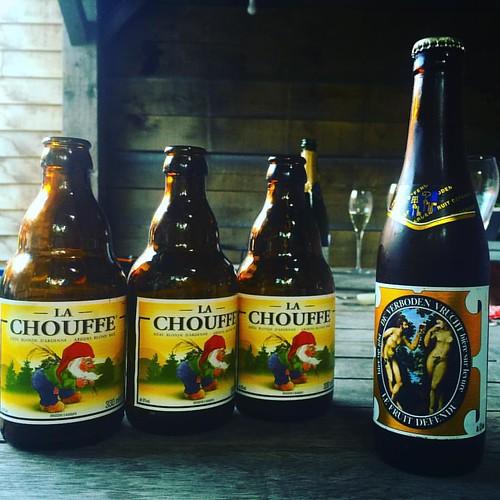 Na drie @chouffeusa is het eindelijk tijd voor iets anders :-) #bbqtime