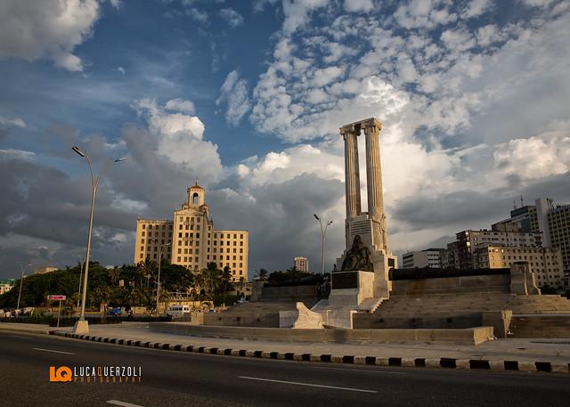 Hotel Nacional Ciudad de la Habana Cuba - vista dal  Malecon