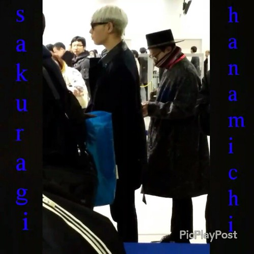 Big Bang - Kansai Airport - 15jan2015 - sakuragi_haramichi - 01