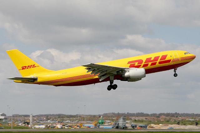 OO-DLC Airbus A.300B4-203(F) DHL