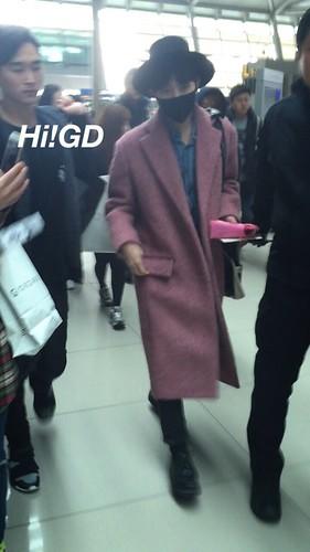 Big Bang - Incheon Airport - 21mar2015 - G-Dragon - Hi GD - 01