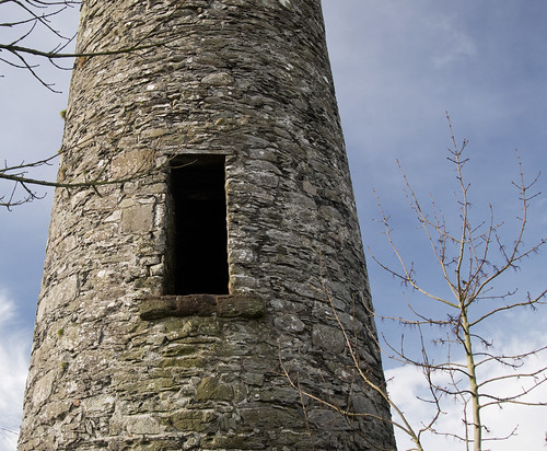 Inishkeen Round Tower - Door
