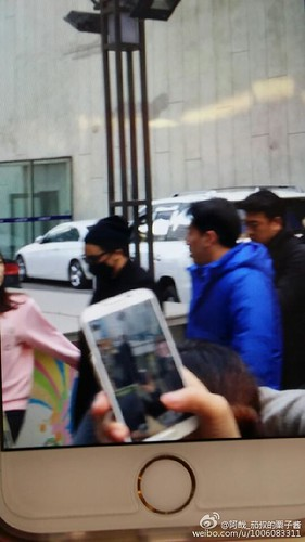 Big Bang - Harbin Airport - 21mar2015 - Seung Ri - 阿哉_茄叔的栗子酱 - 01