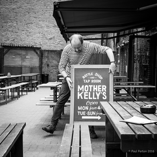 Dancing at Mother Kelly's, Bethnal Green