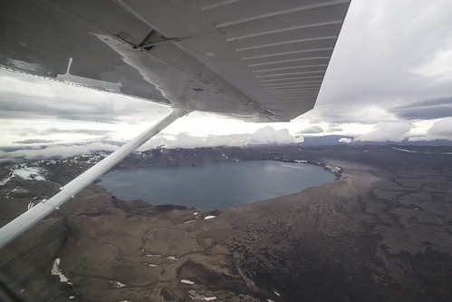 cessna206 flying plane iceland aerial