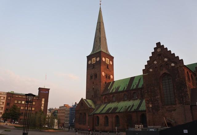 Header of Aarhus Cathedral