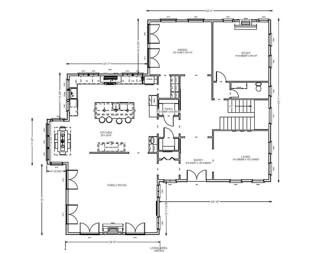 Not my dream kitchen fr plan layout help me choose for Dream kitchen floor plans
