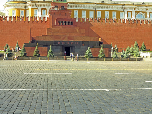 Lenin Mauseleum Red Square