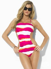swimsuit top(0.0), lingerie top(0.0), cocktail dress(0.0), bikini(0.0), magenta(1.0), clothing(1.0), maillot(1.0), one-piece swimsuit(1.0), photo shoot(1.0), swimwear(1.0), pink(1.0),