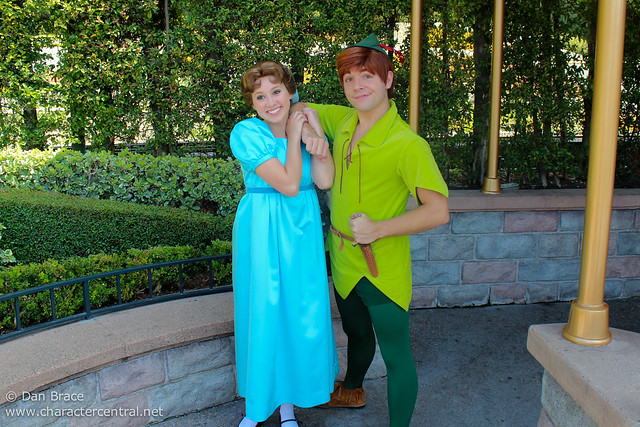 Meeting Peter Pan and Wendy