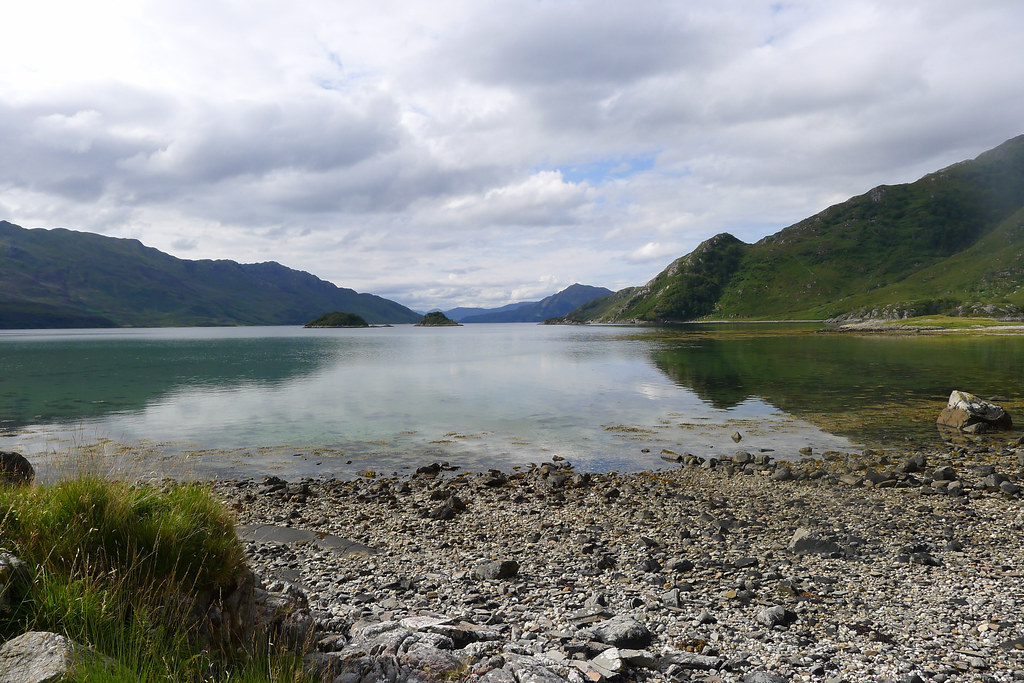 Still waters of Loch Hourn
