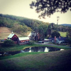 Peaceful farm in Vermont - United States