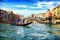 Italy Venice Rialto Bridge August 2012