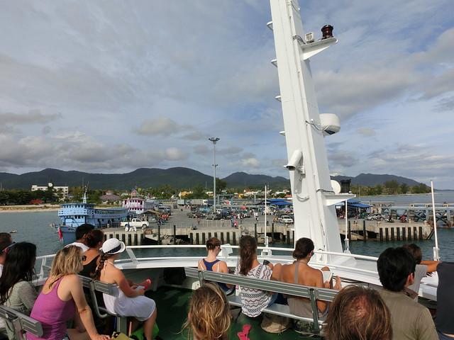 Koh Pangan Pier