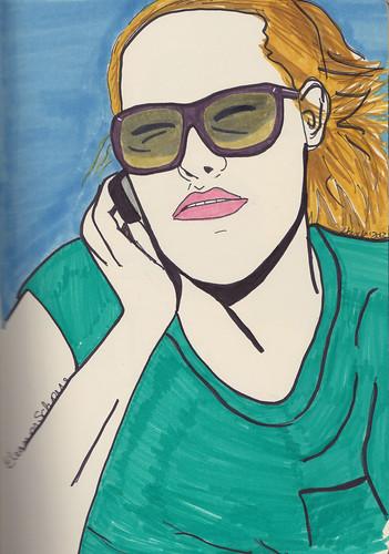 Eleanor Schorre by Hank V
