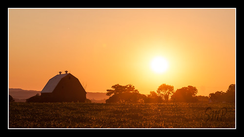 Sunset on the Farm by UpstateNYPhototaker