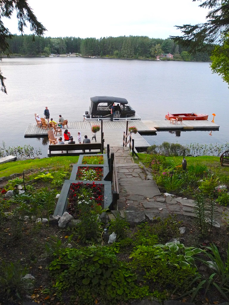 Main Dock at Bartlett Lodge