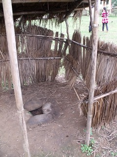 Single pit latrine - Before