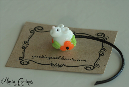 Lampwork Halloween Mouse