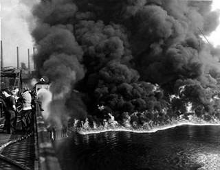 Cuyohoga River Fire