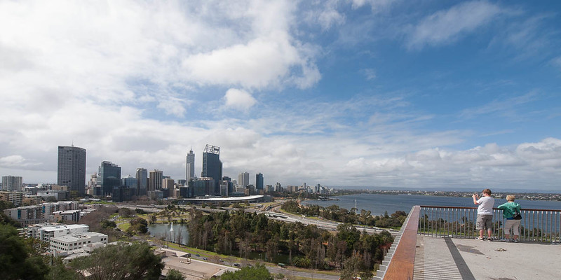 Perth from Kaarta Gar lookout