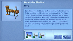 Gem-U-Cut Machine