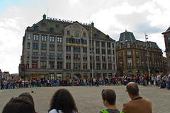 Dam Square et Madame Tussaud / Peek & Cloppenburg building