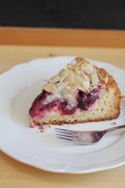 Adventuress Cherry Cream Cheese Coffee Cake