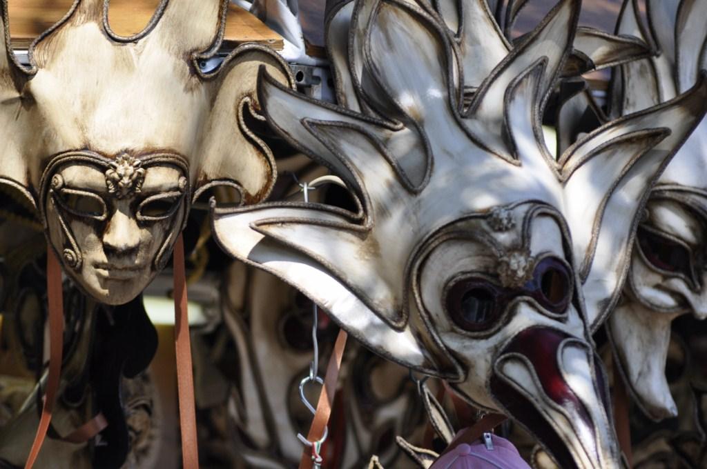 Máscaras, símbolo del Carnaval de Venecia