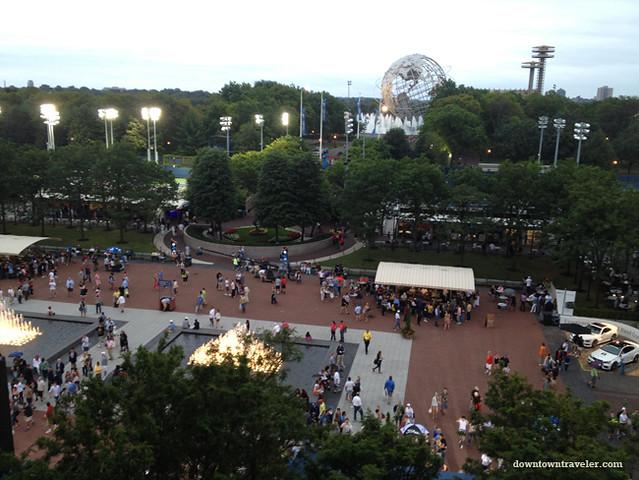US Open Tennis 2012_Worlds Fair Globe
